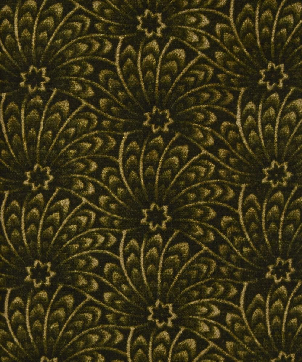 Liberty Fabrics Interiors - Evergreen Capello Shell Vintage Velvet image number 0