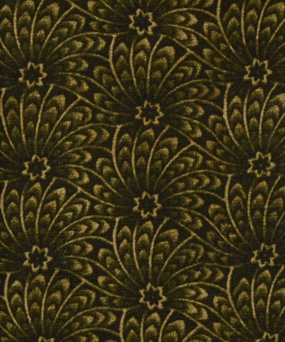 Liberty Fabrics Interiors - Evergreen Capello Shell Vintage Velvet