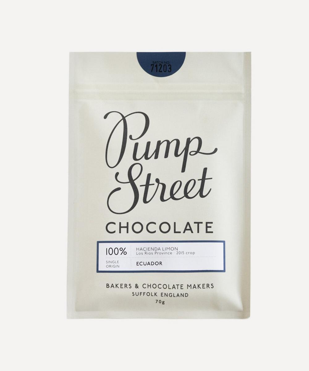 Pump Street Bakery - Ecuador 100% Hacienda Limon Chocolate 70g