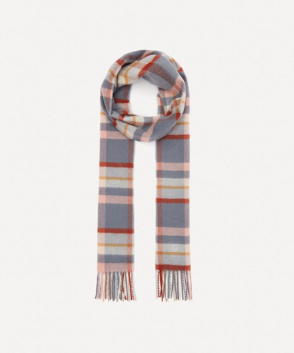 Johnstons of Elgin - Plaid Check Cashmere Scarf