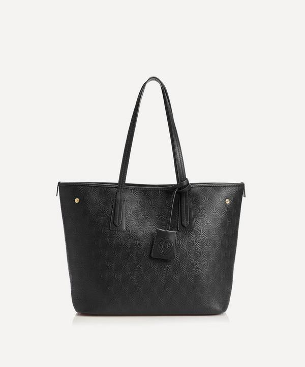 Liberty - Little Marlborough Tote Bag in Iphis Embossed Leather