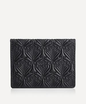 Travel Card Holder in Iphis Embossed Leather