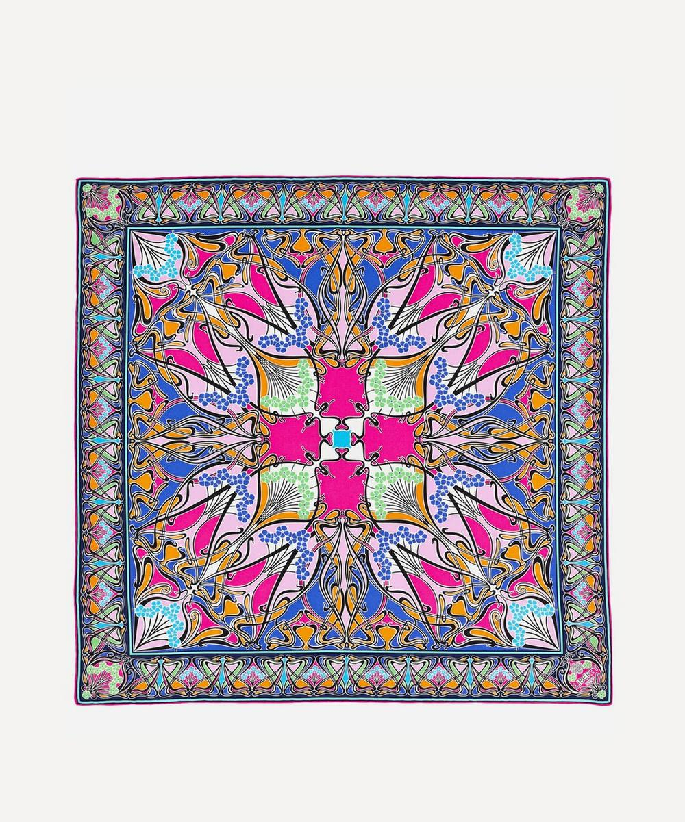 Liberty - Ianthe 70 x 70cm Silk Twill Scarf image number 0