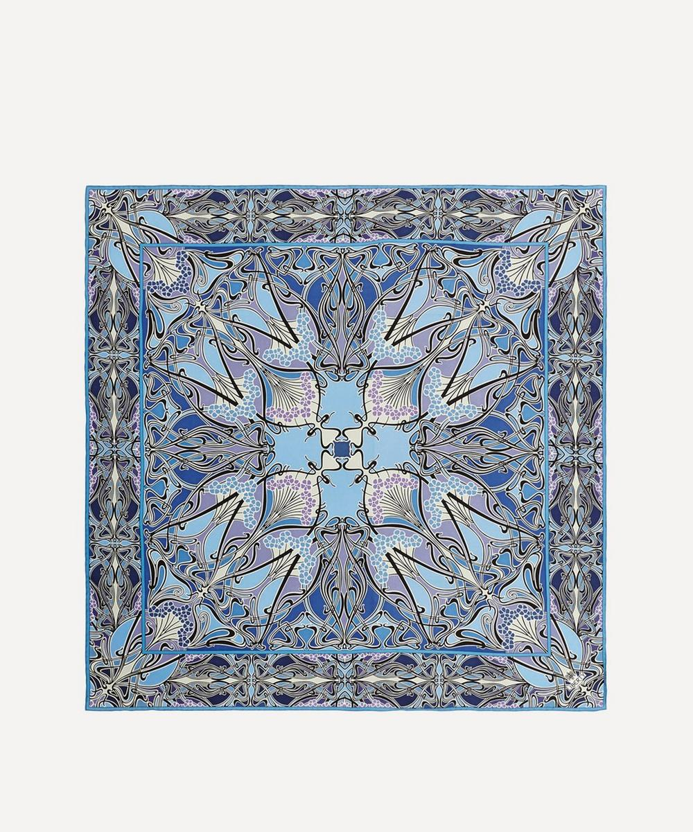 Liberty - Ianthe 90 x 90 Silk Scarf