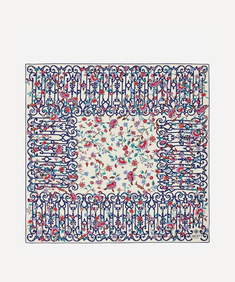 Liberty - Garden Gates 90 x 90 Silk Scarf image number 0