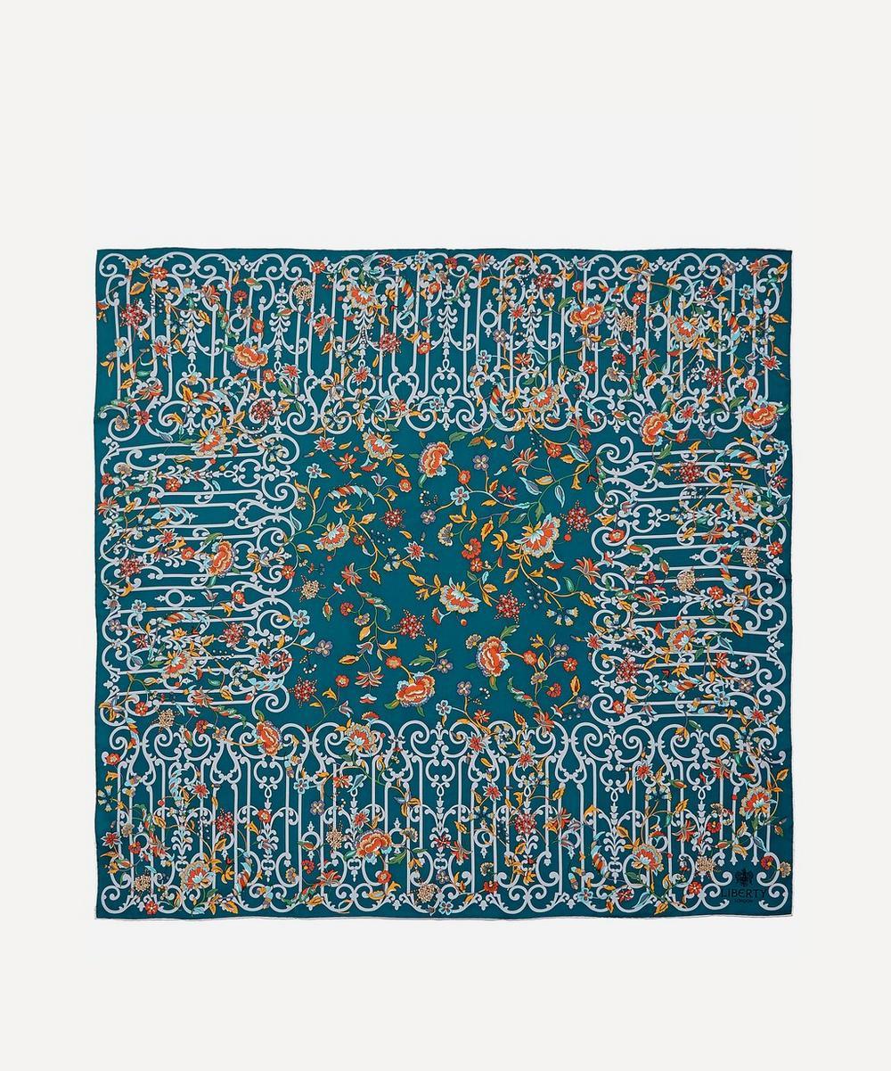 Liberty - Garden Gates 90 x 90 Silk Scarf