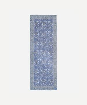 Morris Flower Silk Chiffon Scarf