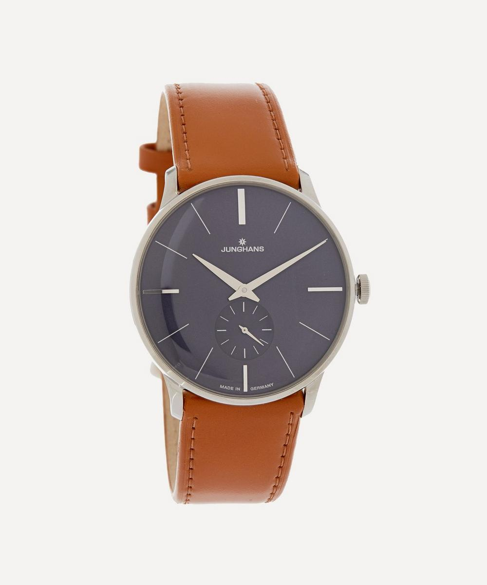 Junghans - Meister Chronoscope Leather Strap Watch
