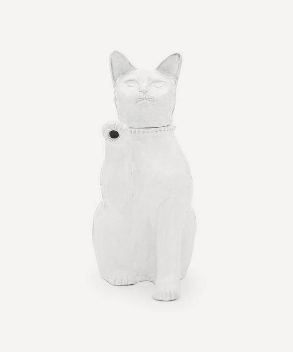 Astier de Villatte - Setsuko Large Cat Teapot