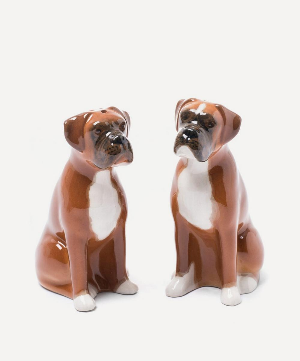 Quail - Boxer Salt and Pepper Shakers