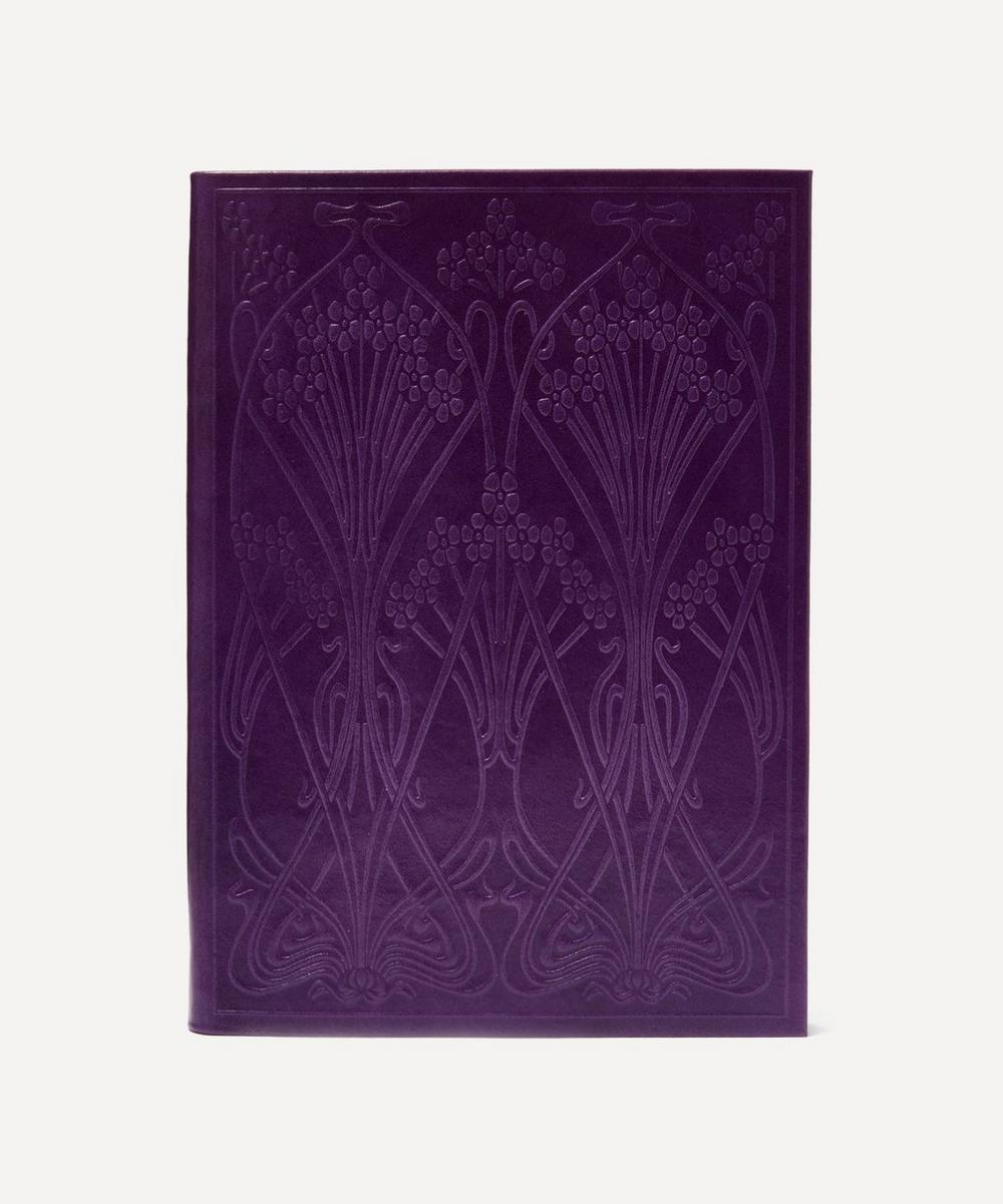 Liberty - Leather Ianthe Large Notebook