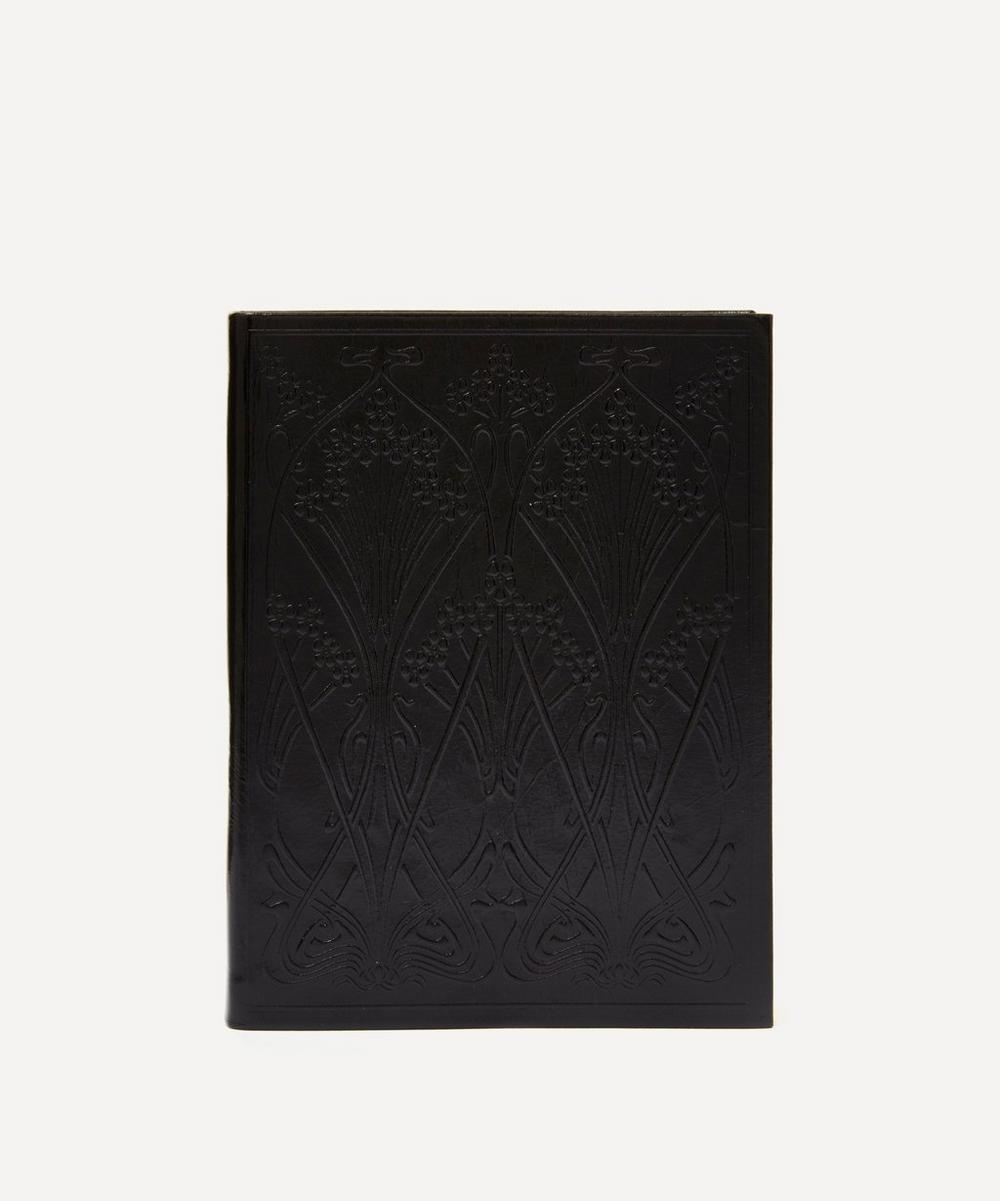 Liberty - Leather Ianthe Medium Notebook