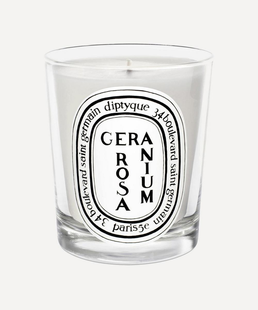 Diptyque - Géranium Rosa Scented Candle 190g image number 0