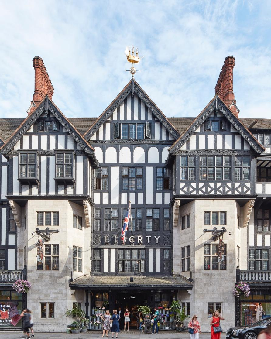 Liberty Store in London Service Bookings
