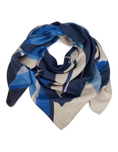 MADELEINE  Foulard femme marine/multicolore / bleu