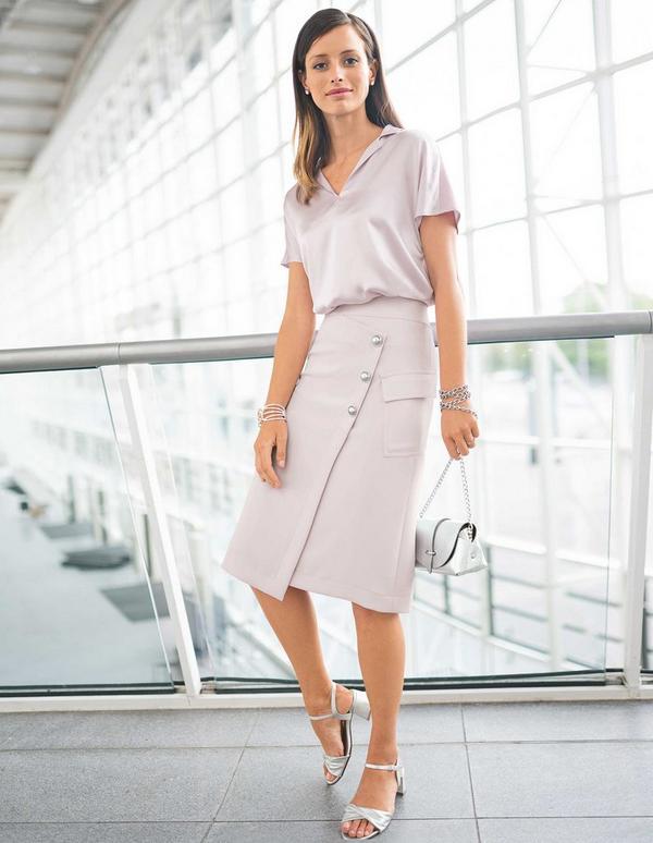 Sexy Frau Business-Anzug Reife REIFE FRAU