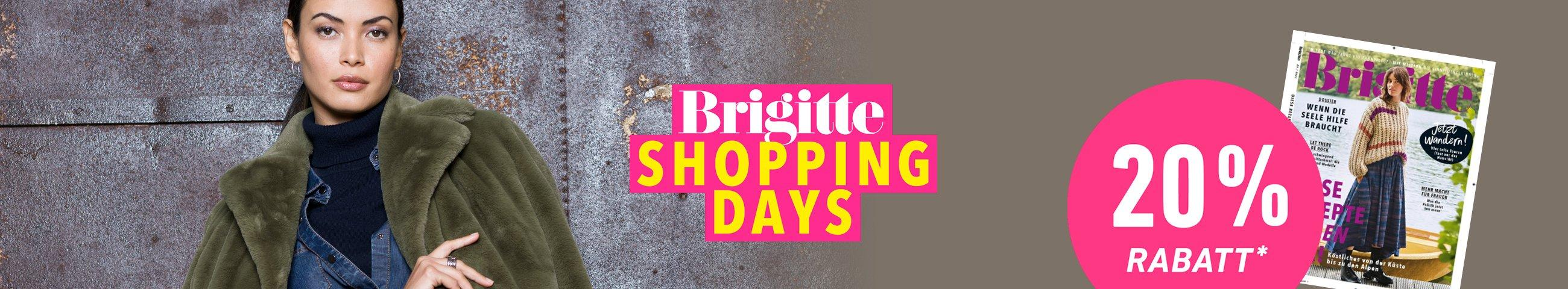 Brigitte Shopping Days 2021