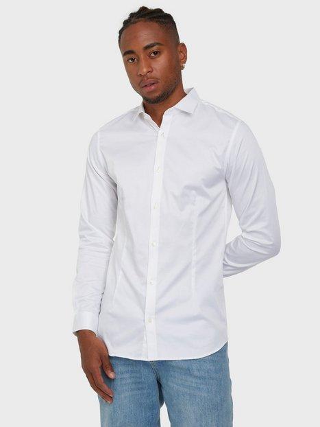 Jack & Jones jjprPARMA Shirt L/S Noos Skjorter Hvid
