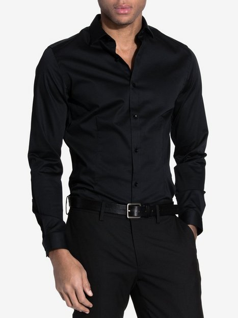 Jack & Jones jjprPARMA Shirt L/S Noos Skjorter Sort