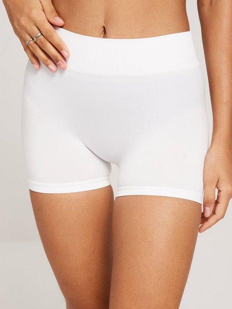 Pieces Pclondon Mini Shorts Noos Trosor Vit