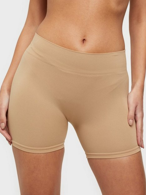 Pieces Pclondon Mini Shorts Noos Trosor Ljus Brun