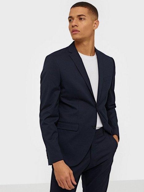 Selected Homme Slhslim Mylologan Navy Blazer B Noo Blazere jakkesæt Mørkeblå - herre