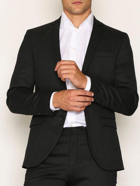Selected Homme Slhslim Mylorex Dk Grey Blazer B No Blazere jakkesæt Mørkegrå mand køb billigt