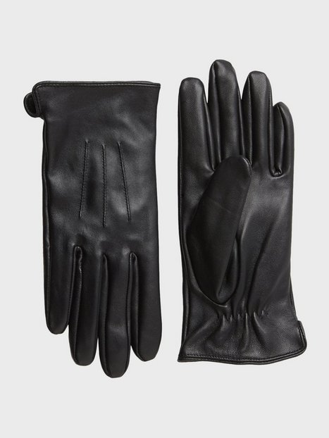 Pieces Pcnellie Leather Glove Noos Beanies, Scarves & Gloves