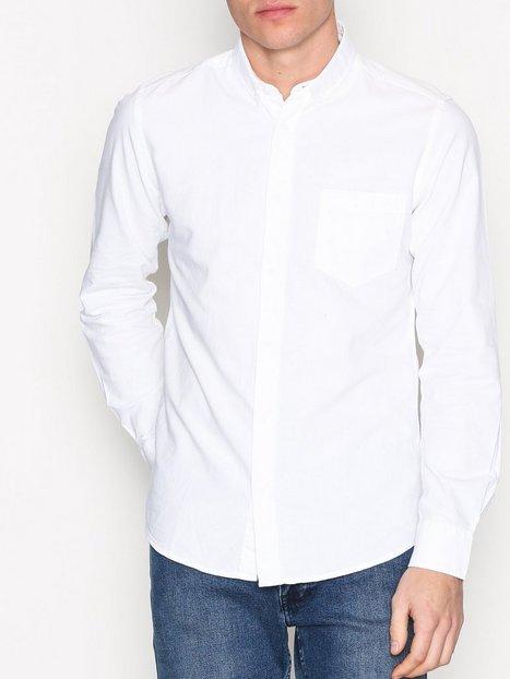 Only Sons onsALVARO Ls Oxford Shirt Noos T shirts undertrøjer Hvid mand køb billigt