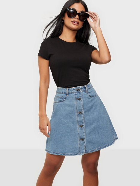 Noisy May Nmsunny Shortdnm Skater Skirt GU124