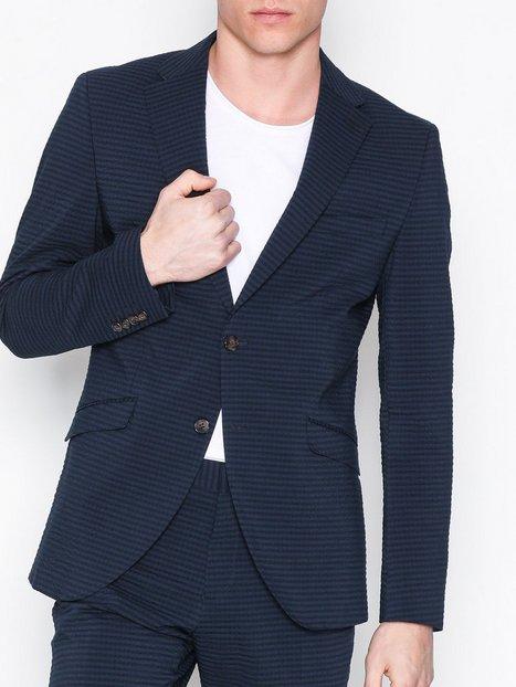 Selected Homme Shdone Taxolav Blazer Blazere jakkesæt Mørkeblå mand køb billigt
