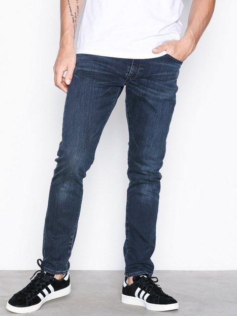 Levis 512 Slim Taper Fit Headed Sout Jeans Denim Blå - herre