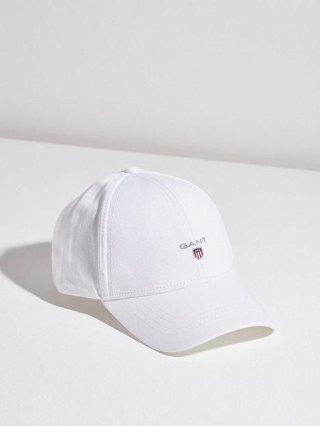 Gant Gant New Twill Cap Kasketter White mænd køb billigt