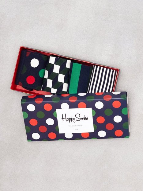 Happy Socks Holiday Big Dot Gift Box Strumpor Prickig
