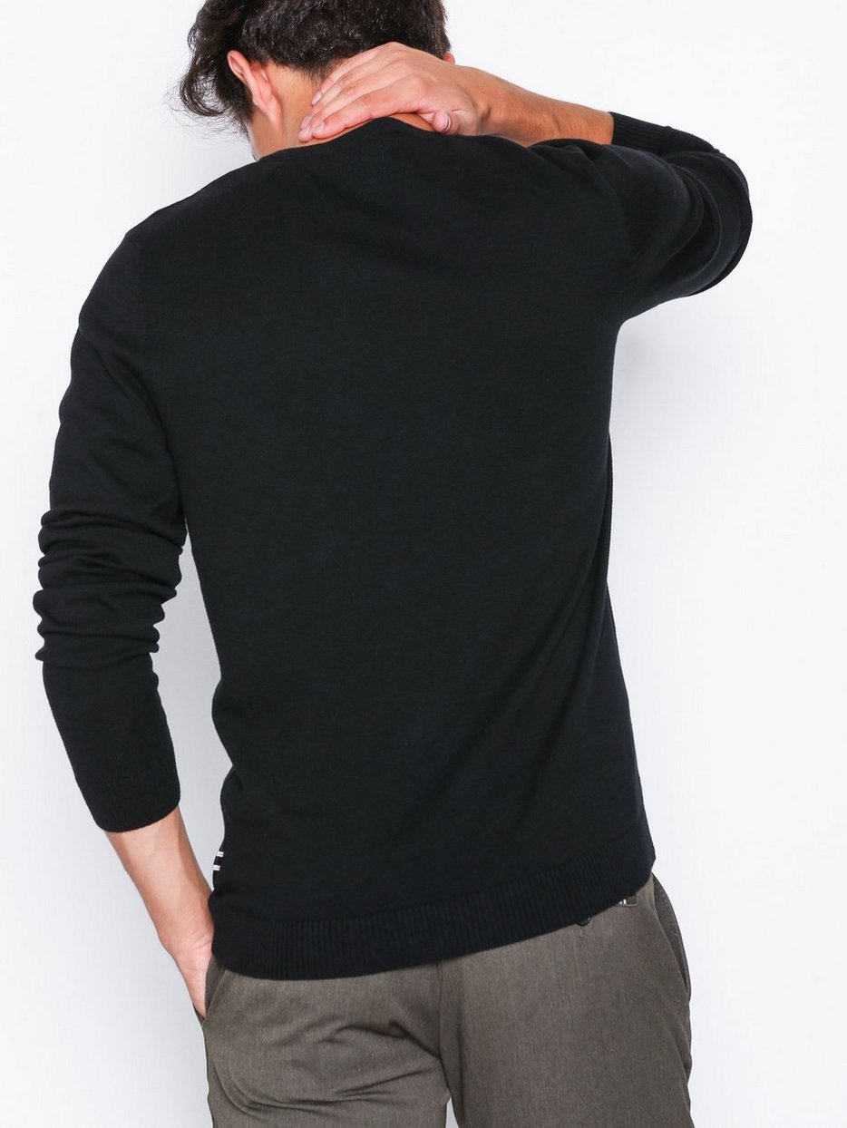 JJEBASIC KNIT V-NECK NOOS