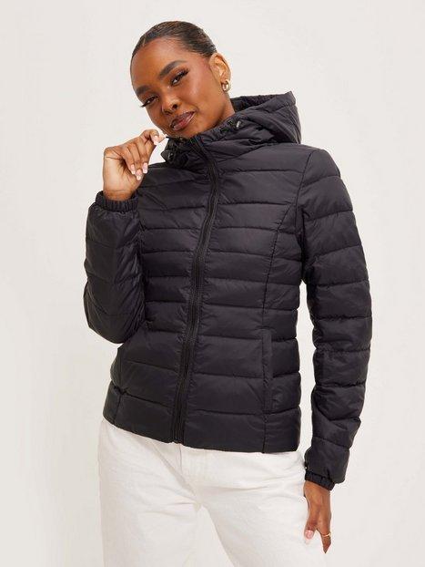 Only onlTAHOE Hood Jacket Otw Noos Dunjakker Sort