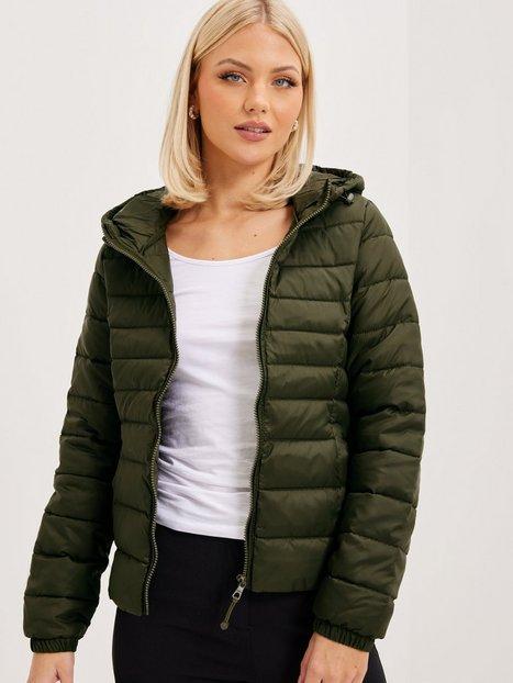 Only onlTAHOE Hood Jacket Otw Noos Dunjakker Forest Night