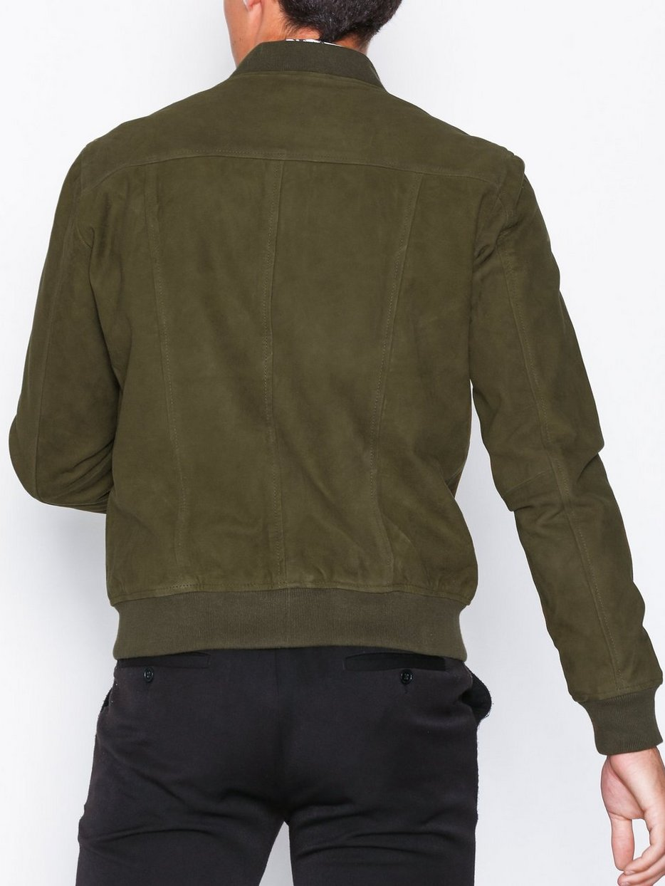 SLHMAX SUEDE BOMBER W