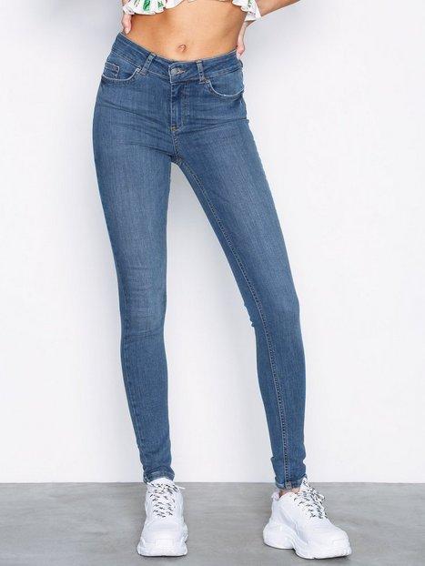 Billede af Pieces Pcdelly Mw Skn Jns B181 Mbld/Noos Bukser & shorts