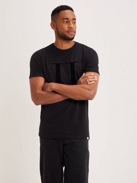 Les Deux Encore T-Shirt T-shirts & undertrøjer Sort