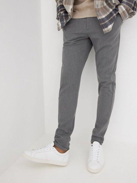 Les Deux Como Suit Pants Bukser Grå