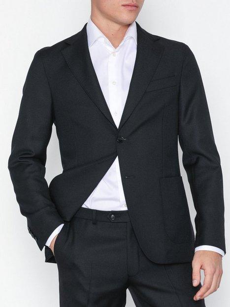 Oscar Jacobson Edgar Blazer Blazere jakkesæt Black - herre