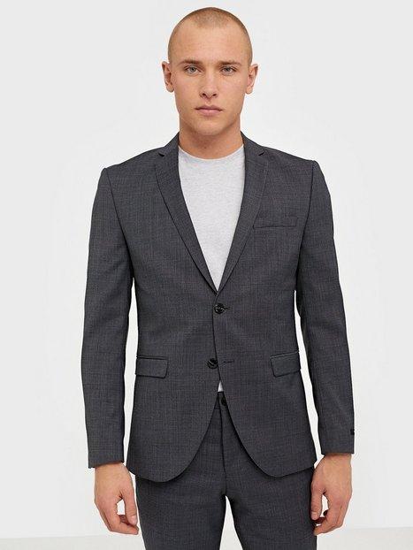 Premium by Jack Jones Jprsolaris Blazer Noos Blazere jakkesæt Mørkegrå - herre