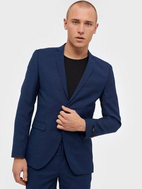 Premium by Jack Jones Jprsolaris Blazer Noos Blazere jakkesæt Mørkeblå - herre