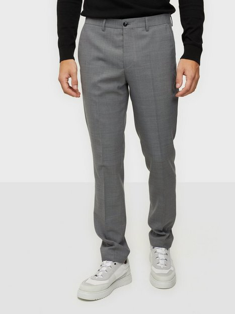 Premium by Jack & Jones Jprsolaris Trouser Noos Bukser Light Grey Melange