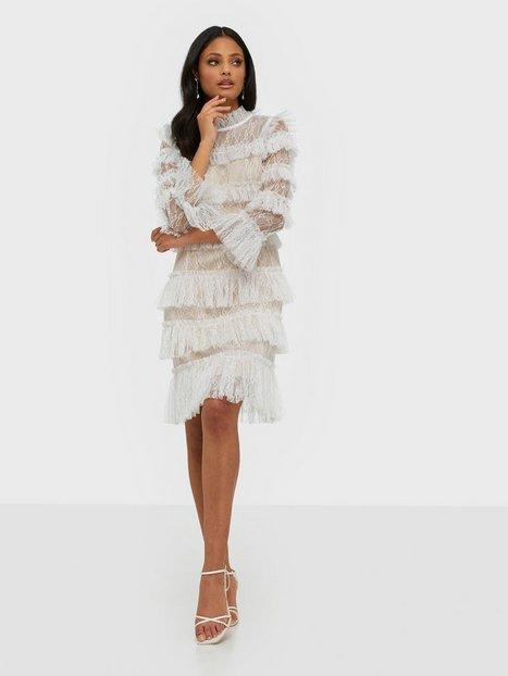 By Malina Carmine mini dress Tætsiddende kjoler