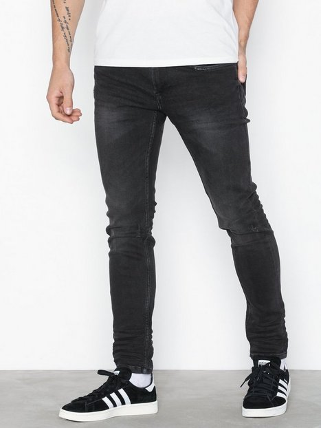 Only & Sons onsWARP Black Washed Ld Pk 0899 Noo Jeans Sort