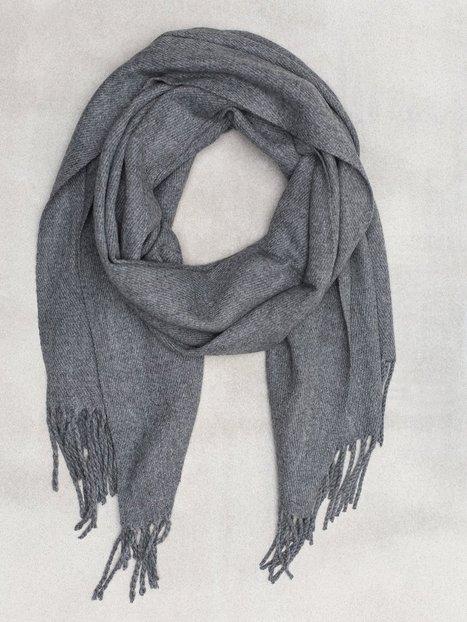 Jack Jones Jacsolid Woven Scarf Noos Halstørklæder scarves Grå mænd køb billigt
