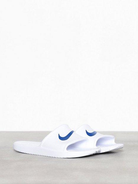 Nike Sportswear Kawa Shower Loafers slippers Hvid Blå - herre