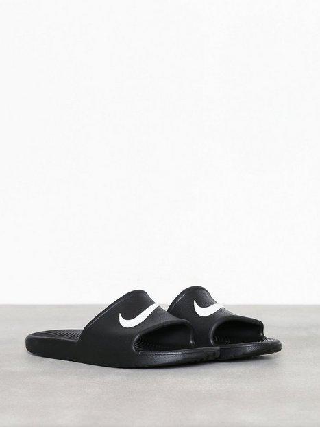 Nike Sportswear Kawa Shower Loafers slippers Sort Hvid - herre